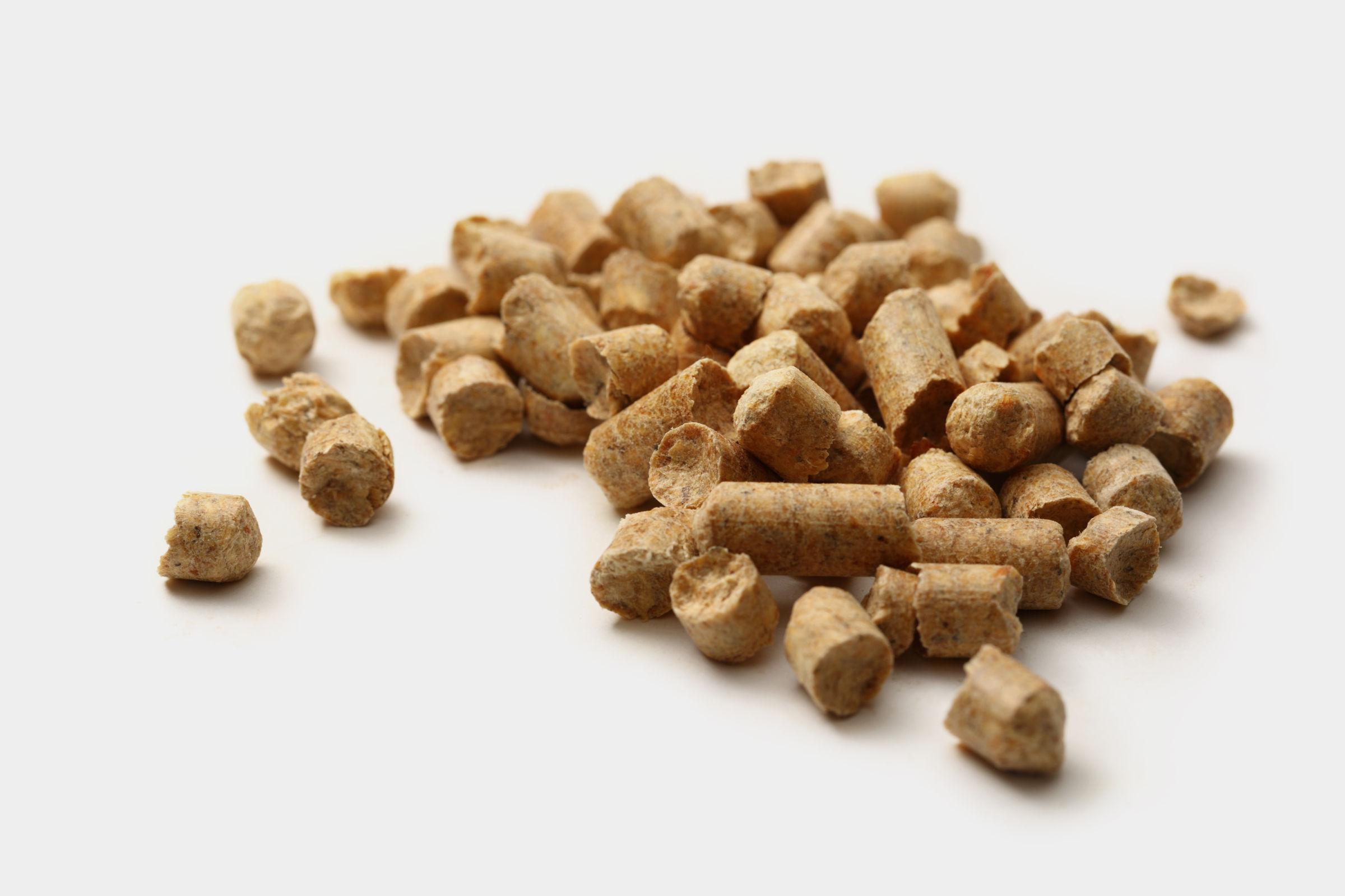 Montón de pellets